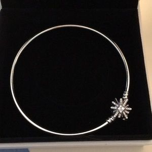 Authentic Pandora Star/Fireworks Bangle LE